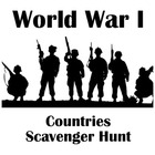 WWI Countries Scavenger Hunt: Textbook or Webquest Researc