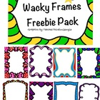 Wacky Frames Freebie Pack