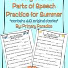 Wacky Words Parts of Speech Practice for Summer