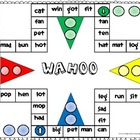 Wahoo Word Game - CVC words mixed vowels