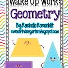 Wake Up Work: Geometry {Common Core Aligned}