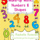 Wake Up Work: Numbers &amp; Shapes