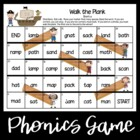 Walk the Plank--Short Vowel Games