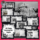 Walking Tour of the Roaring Twenties 20s 1920s U.S. Histor