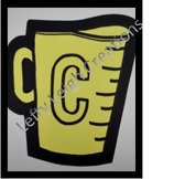 Wall Art- C_measuring cup
