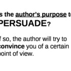 Wall Resource: Author's Purpose
