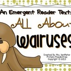 Walrus Emergent Reader Text