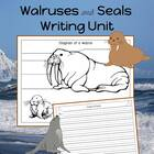 Walruses and Seal Writing Unit for Beginner Writers