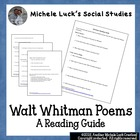 Walt Whitman Poem Reading Guide