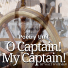 "Walt Whitman's ""O Captain! My Captain!"" Activity Pack"