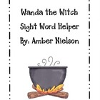 Wanda the Witch Word Wall Helper