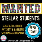 Wanted: Stellar Students - Application, Cover Letter, Resume