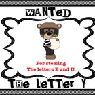 Wanted:  The Letter Y (Y at the End of Words)