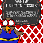 Wanted: Turkey in Disguise Inference Activity for Intermediate