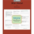 War Horse Complete Literature and Grammar Unit
