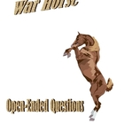 War Horse Open-Ended Questions for State Assessment tests