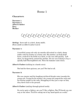War Horse by Michael Morpurgo Readers Theatre Script