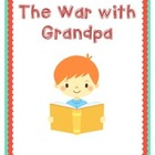 War With Grandpa Comprehension Questions - Plus Vocabulary!