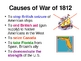 War of 1812 - PowerPoint