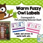 Warm Fuzzy Reward System Chart Labels