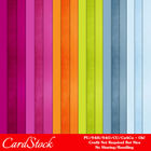 Warm & Happy A4 size Card Stock Digital Papers