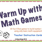 Warm Up with Math Games (x10) - Math Centers
