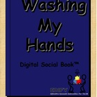 Washing Hands Digital Social Book