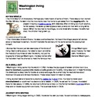 Washington Irving-Biography-TheLegend of Sleepy Hollow