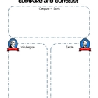 Washington & Lincoln - Compare & Contrast Graphic Organizer
