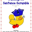 Washington Sentence Scramble