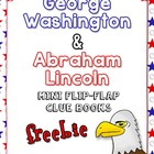 Washington and Lincoln Flip-Flap Books for Notebooking or