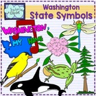 Washington state symbols clipart