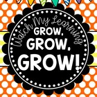 Watch Our Learning Grow, Grow, GROW! {A Kindergarten Goal