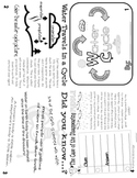 Water Cycle Flippy Book