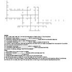 Water Cycle & Precipitation Benefits Crossword Puzzle (2 v