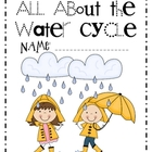 Water Cycle Writing Book