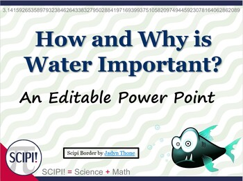 Water: How & Why Is It Important?