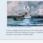 Watercolor Winslow Homer Presentation; Art Critique