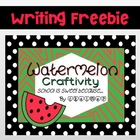 Watermelon Back to School Craftivity {School Is Sweet because...}