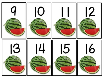 Watermelon Match Up