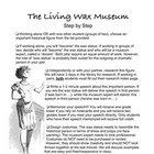 Wax Museum Lesson Plan - Where History Comes to Life!