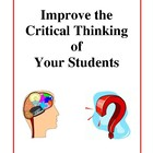 Ways to Improve Critical Thinking