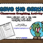 Ways to Save the Earth- Earth Day Graphing Activity