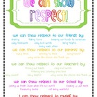 Ways to Show Respect!