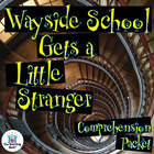 Wayside School Gets a Little Stranger Comprehension Questi