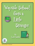 Wayside School Gets a Little Stranger Novel Unit CD ~ Common Core
