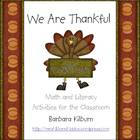 We Are Thankful! Math and Literacy Activities for the Classroom