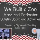 Area and Perimeter Bulletin Board and Games FUN!!!