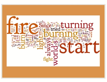 """We Didn't Start the Fire"" Word Art & Lesson Activity Ideas"