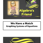 We Have a Match - Partner Activity Graphing Systems of Equations